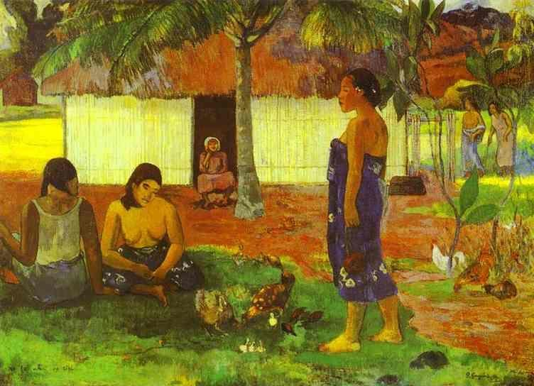 an analysis of where do we come from what are we where are we going painting by gauguin Where do we come from what are we where are we going is a painting by french artist paul gauguingauguin inscribed the original french title in the upper left corner: d'où venons nous.