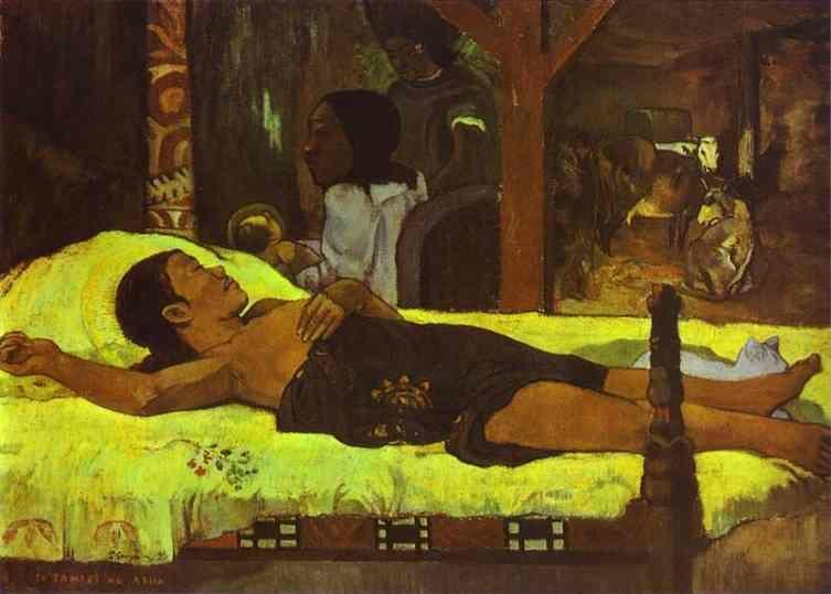 Paul Gauguin. Te Tamari No Atua (Nativity).