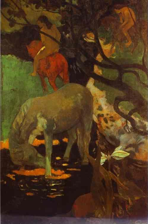 Paul Gauguin. The White Horse.