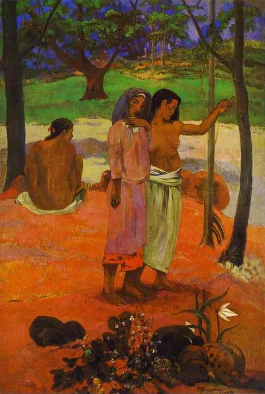 Paul Gauguin. The Call.
