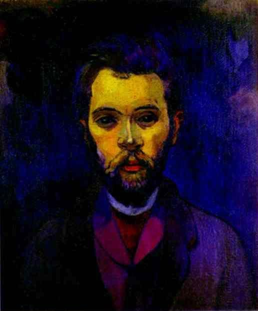 Paul Gauguin. Portrait of William Molard.