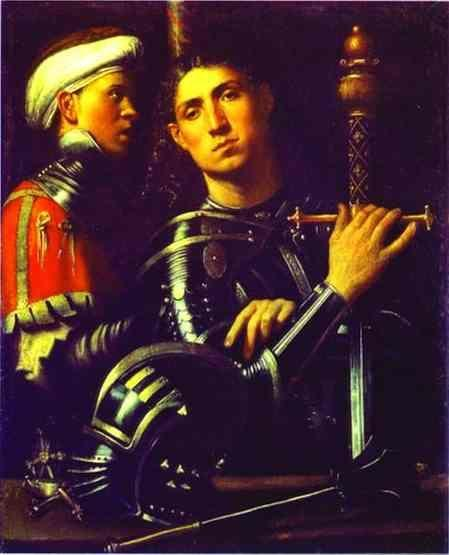 Giorgione. Portrait of a Gentleman in Armor.