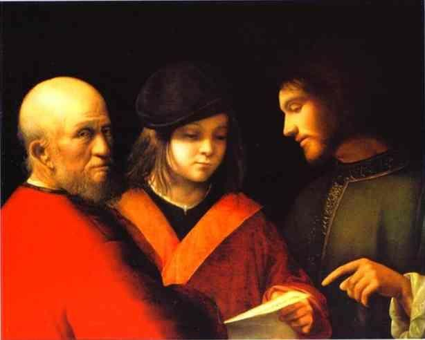 Giorgione. The Three Ages of Man.