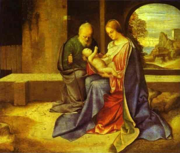 Giorgione. The Holy Family.