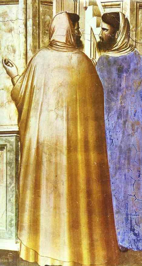 Giotto. Presentation at the Temple. Detail.