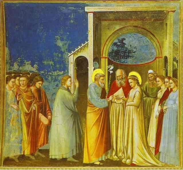 Giotto. Marriage of the Virgin.