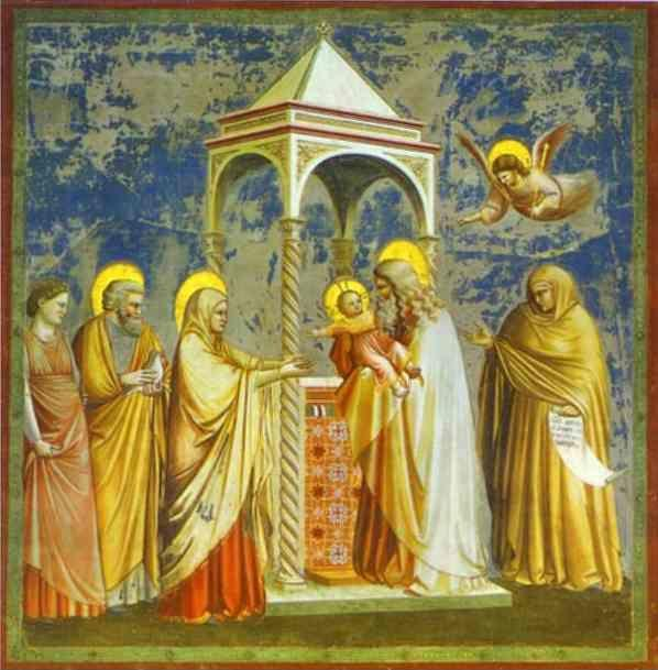 Giotto. The Presentation of Jesus in the Temple.