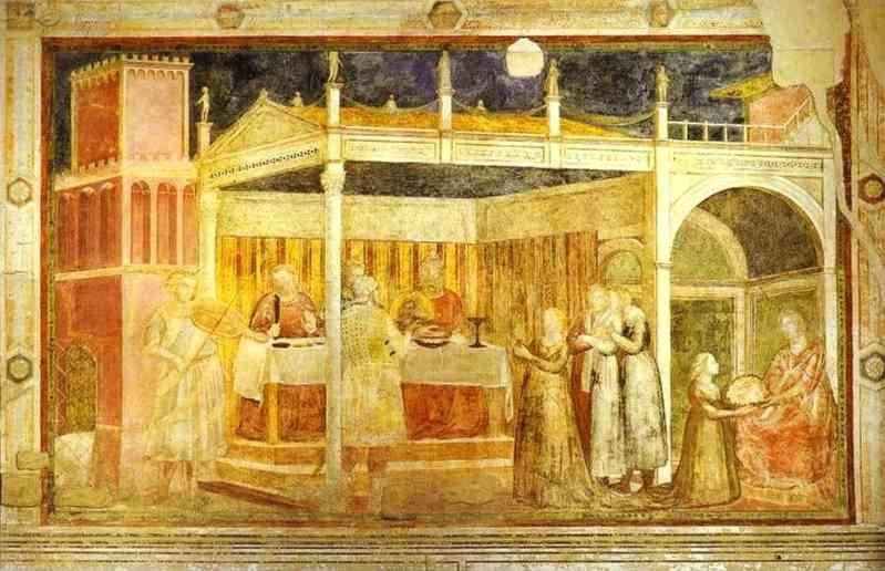 Giotto. The Feast of Herod.