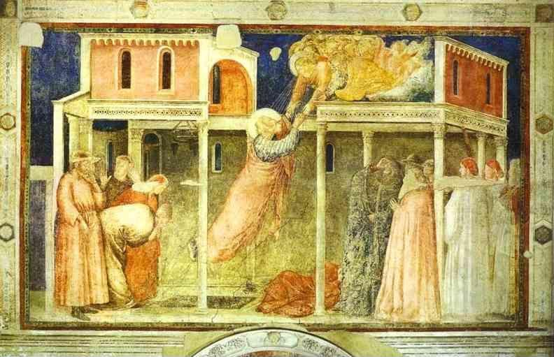 Giotto. Ascention of John the Evangelist.