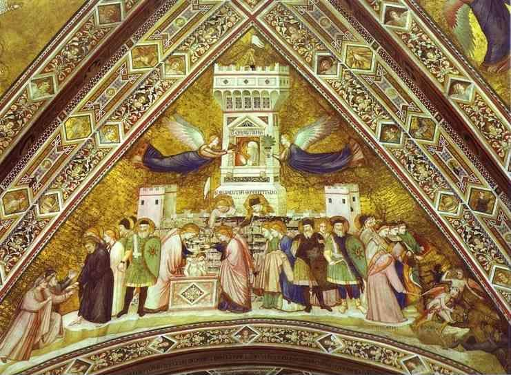 Giotto. Allegory of Chastity.