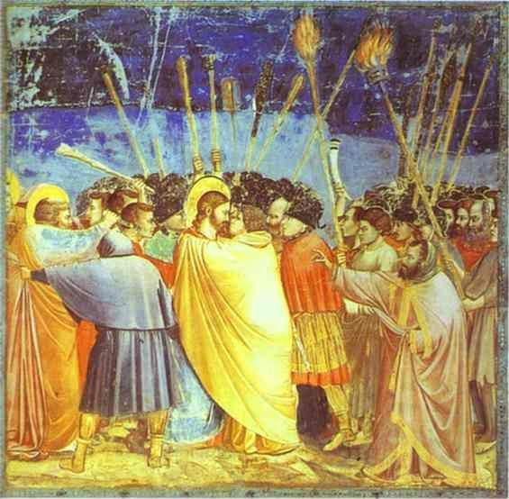 Giotto. The Kiss of Judas.