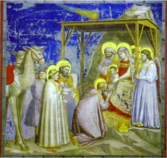 Giotto. The Adoration of the Magi.