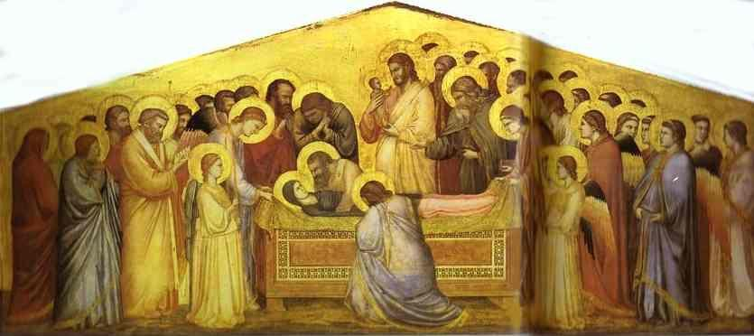 Giotto. The Death of the Virgin.