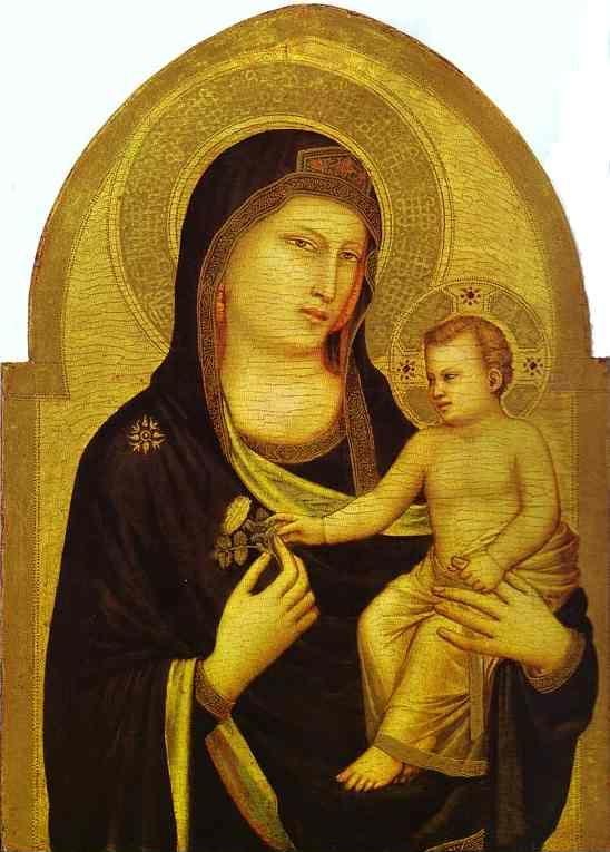 Giotto. Madonna and Child.