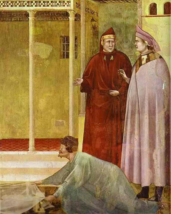 Giotto. Homage of a Simple Man. Detail.