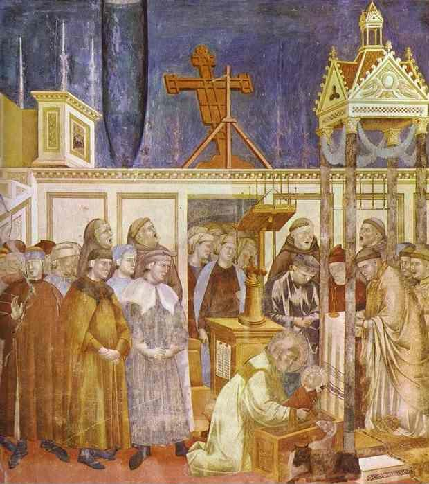 Giotto. The Celebration of Christmas at Greccio.