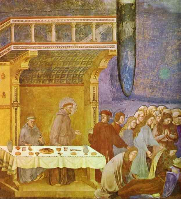 Giotto. The Death of Knight of Celano.