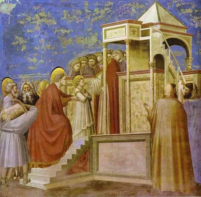Giotto. Presentation at the Temple.