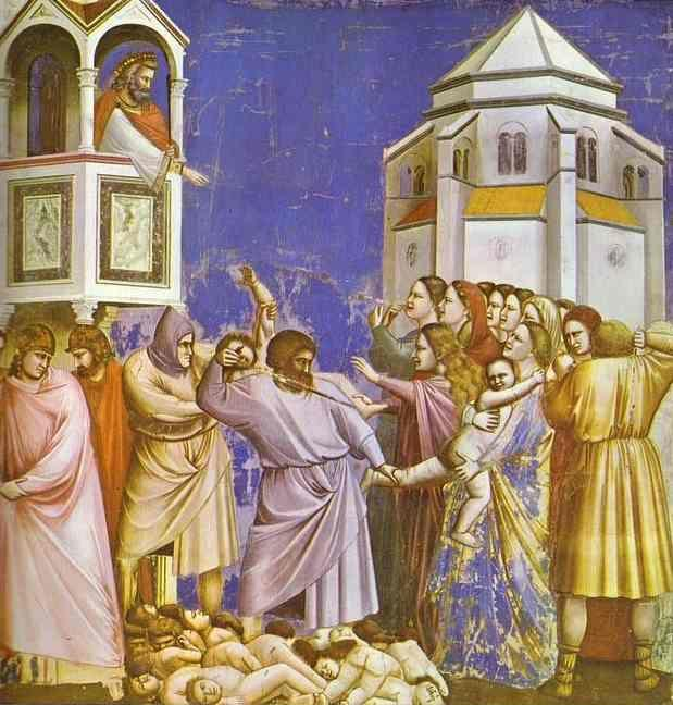Giotto. The Massacre of the Innocents.