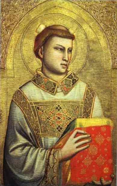 Giotto. St. Stephen.