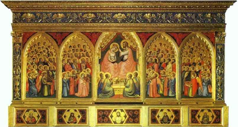Giotto. Baroncelli Polyptych.