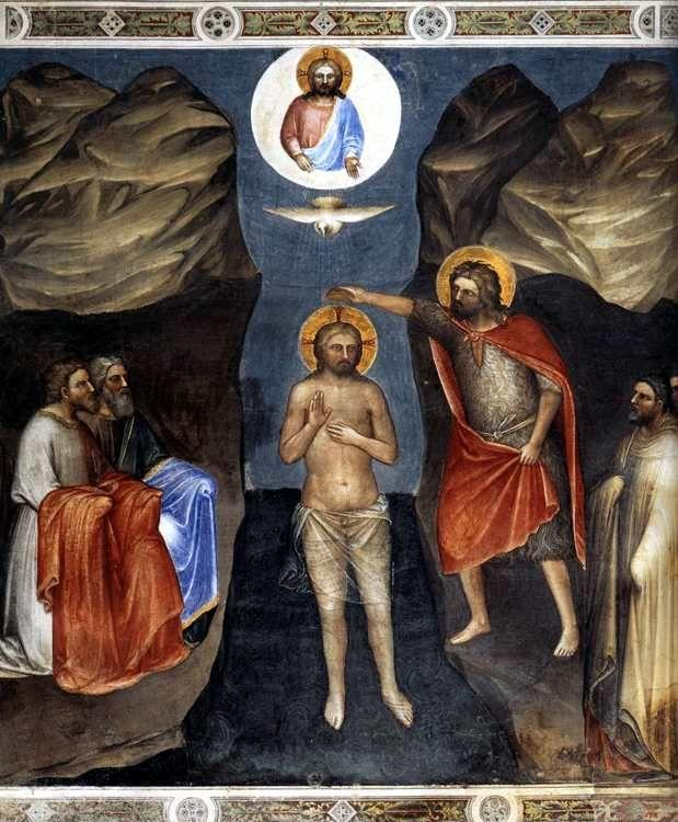 Giusto de' Menabuoi. The Baptism of Christ.