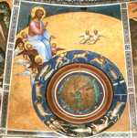 Giusto de' Menabuoi. The Creation of the World. Dome fresco.