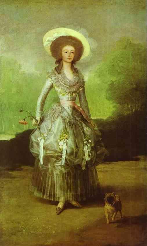 Francisco de Goya. The Marquesa de Pontejos.
