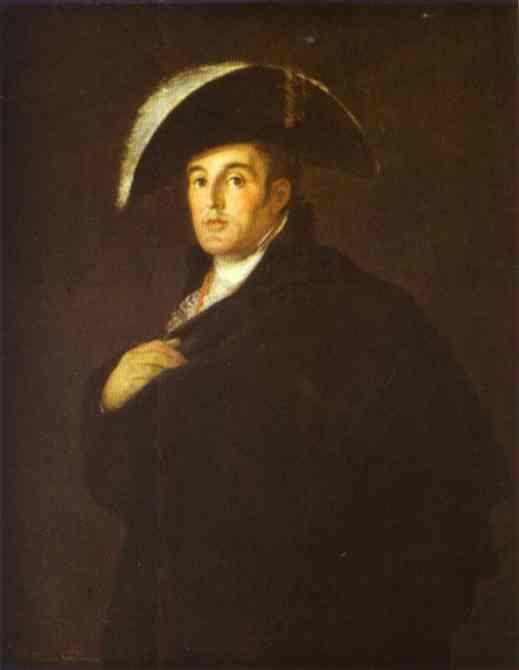 Francisco de Goya?. The Duke of Wellington.