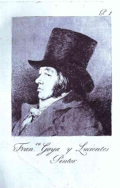 Francisco de Goya. Self-Portrait.
