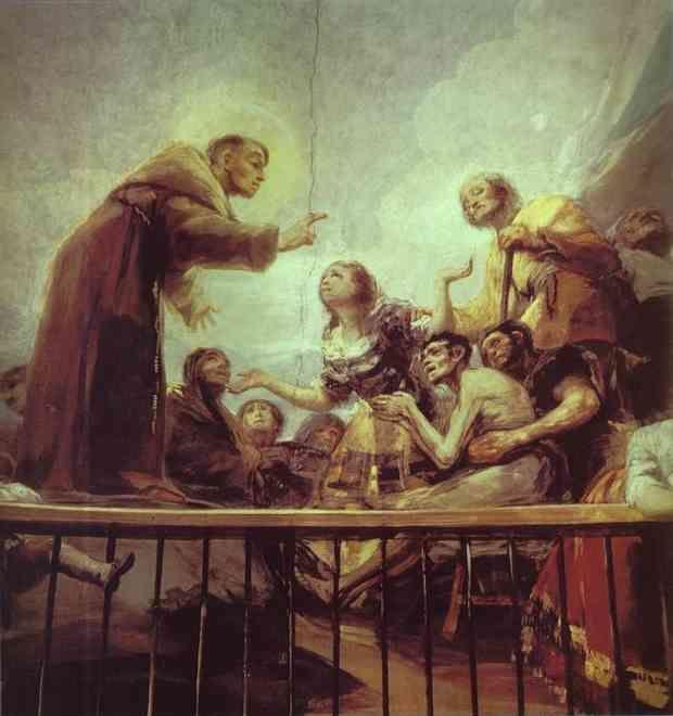 Francisco de Goya. The Miracle of St. Anthony.