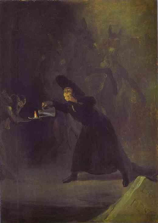 Francisco de Goya. The Bewitched Man.