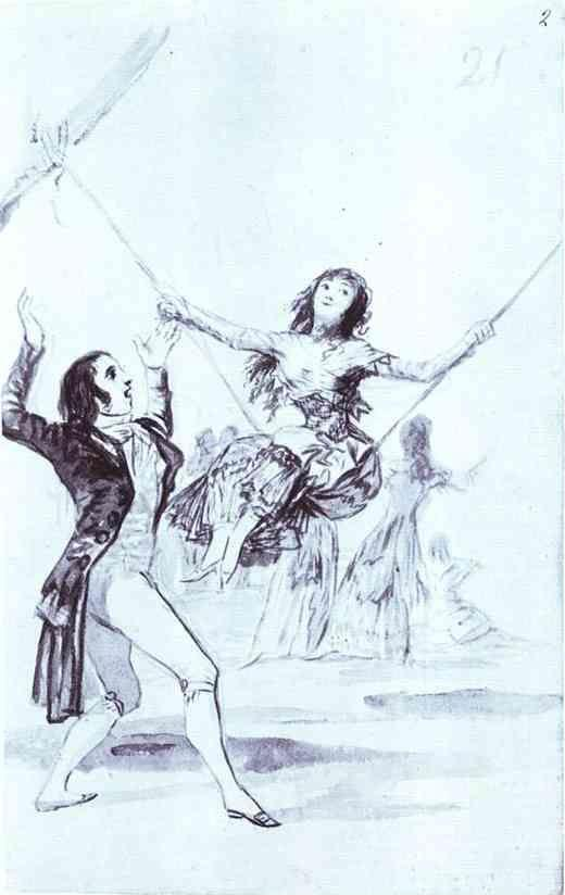 Francisco de Goya. The Swing.
