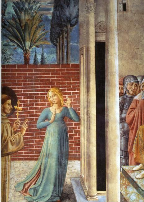 Benozzo Gozzoli. Trial by Fire Before the Sultan.