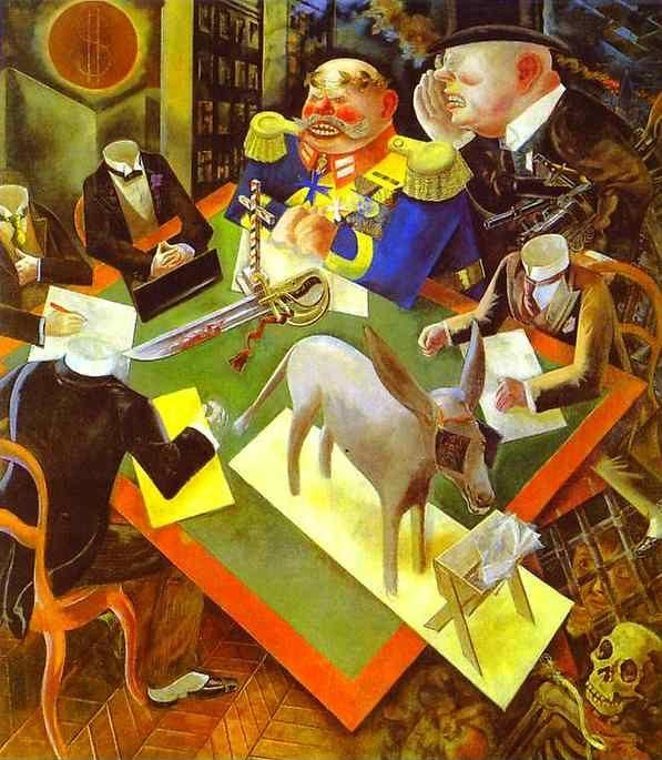 George Grosz. Eclipse of Sun.