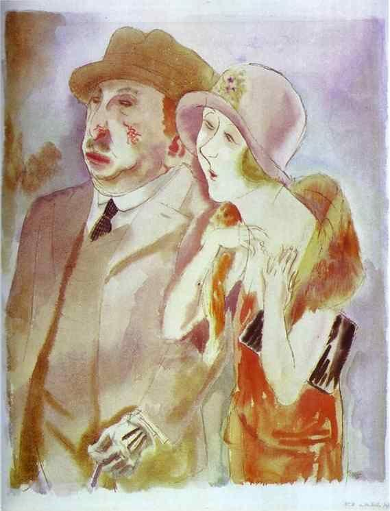 George Grosz. The Best Years of Their Lives.