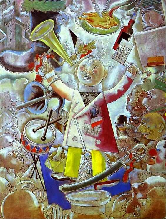 George Grosz. The Agitator.
