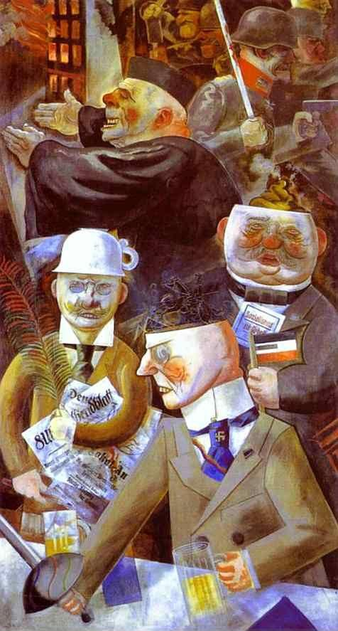 George Grosz. The Pillars of Society.