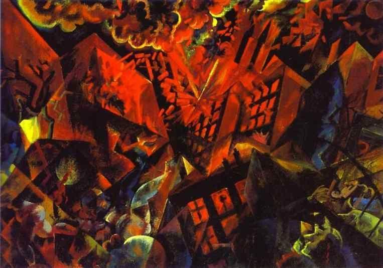 George Grosz. Explosion.
