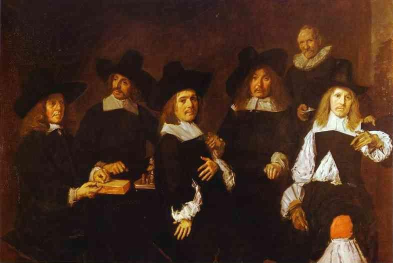 Frans Hals. The Governors of the Old Men's Almhouse at Haarlem.