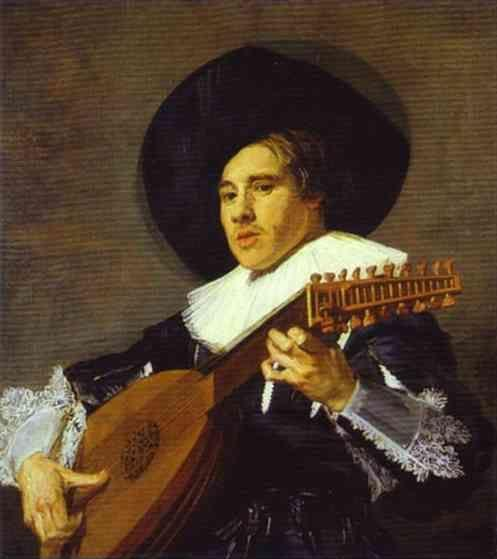 Frans Hals. The Lute Player.