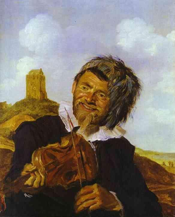 Frans Hals. Fisherman, Playing a Fiddle.