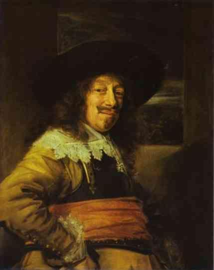 Frans Hals. Portrait of an Officer.