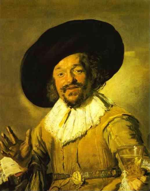 Frans Hals. The Merry Drinker.