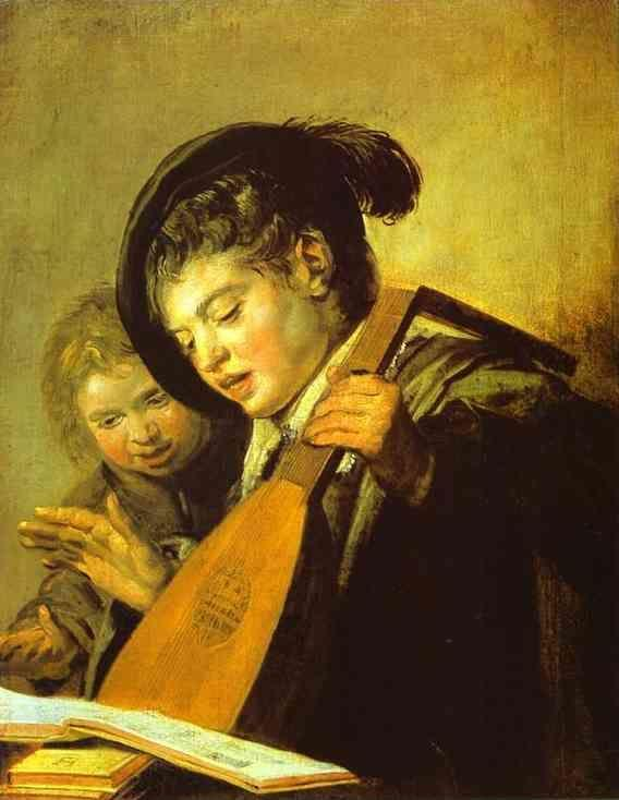 Frans Hals. Two Boys Singing.