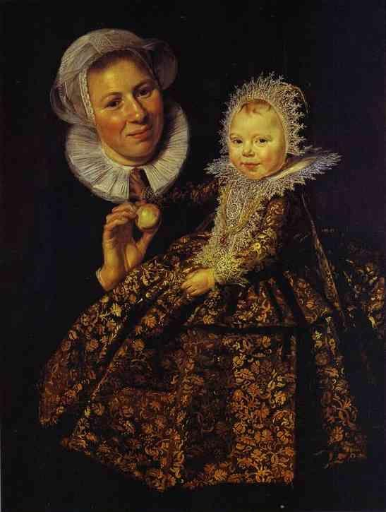 Frans Hals. The Infant Catharina Hooft (1618-1691) with Her Nurse.