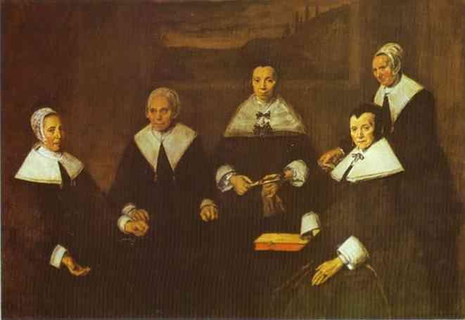 Frans Hals. The Lady-Governors of the Old Men's Almshouse at Haarlem.