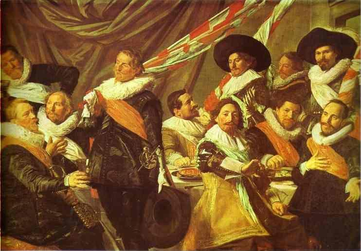 Frans Hals. The Banquet of the Officers of the St. George Civic Guard.