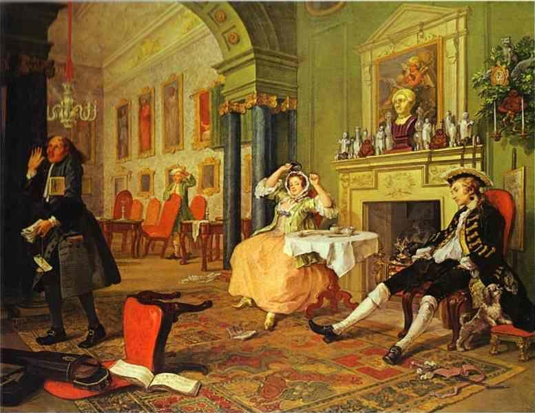 William Hogarth. Shortly After the Marriage.