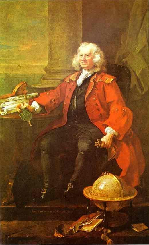 William Hogarth. Captain Thomas Coram.